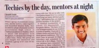 Mentor India Bangalore Mirror KnowYourStar