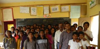 Mentor India students