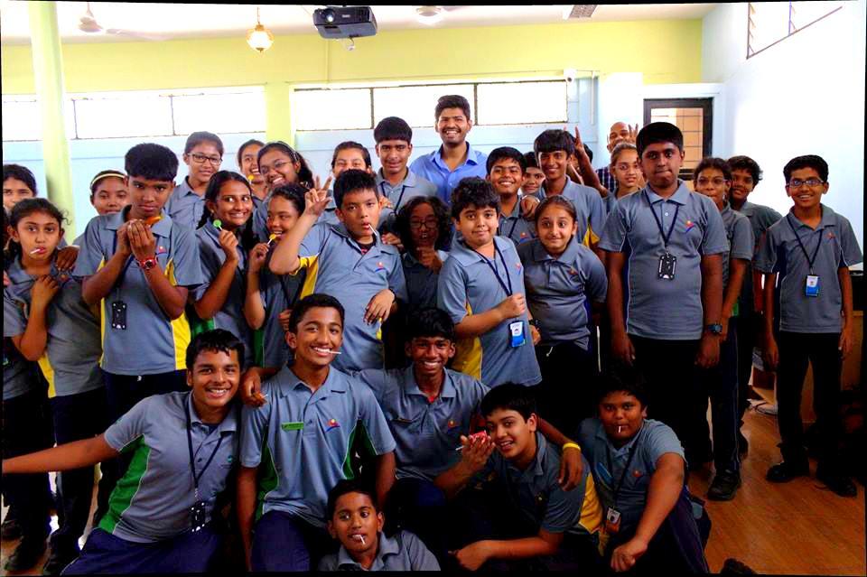 Abhilash Salimath Being Eco Schools KnowYourStar.com