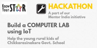 Hackathon KnowYourStar Mentor India