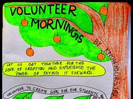 Volunteer Mornings Banner