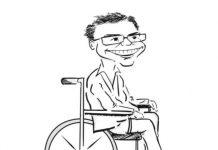 Ashwin Karthik Caricature